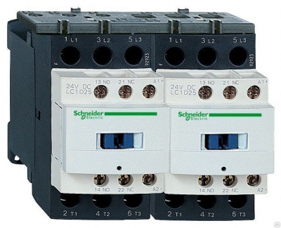 Контакторы реверсивный серия D Schneider Electric
